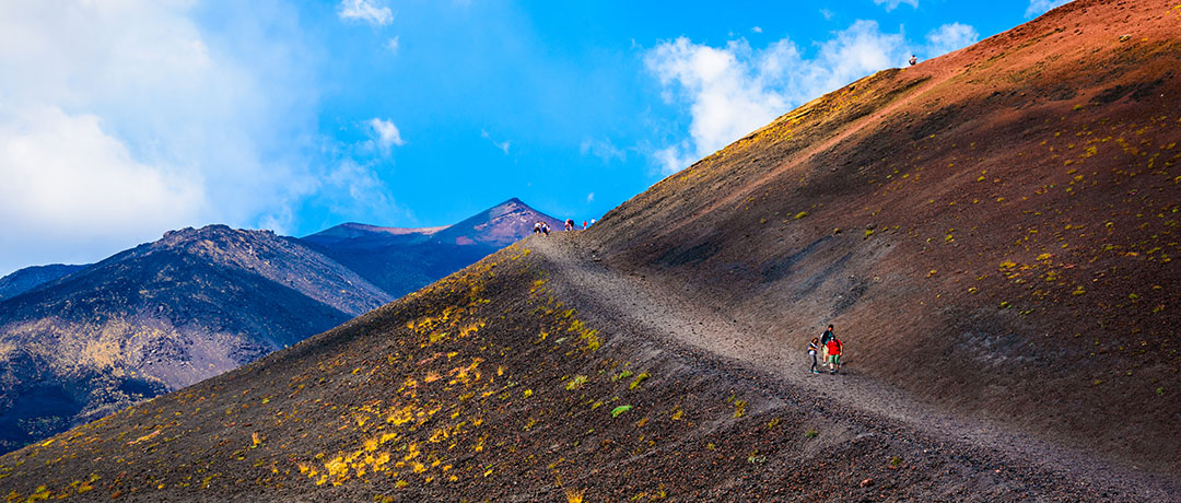 Mount Etna Excursions and Etna Tours